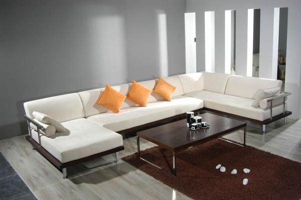 Obývací pokoj a kuchyn ispirace - krásná, ale nevím ani výrobce