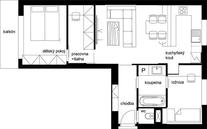 Půdorysy, domy - @carpatia