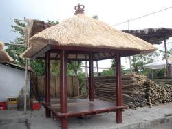 Zahrada - tropický altán