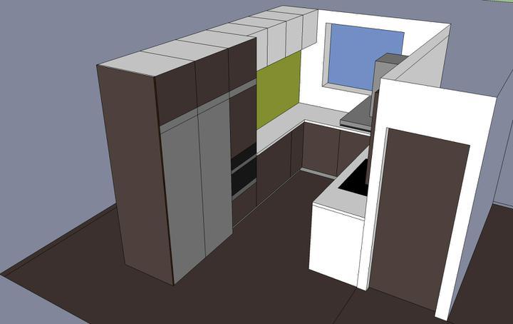 Obývací pokoj, jídelna a kuchyň realita - Obrázek č. 66