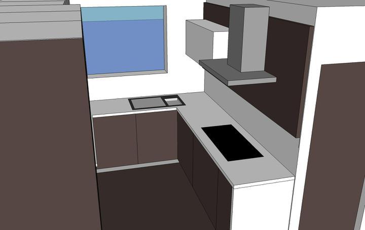 Obývací pokoj, jídelna a kuchyň realita - Obrázek č. 67