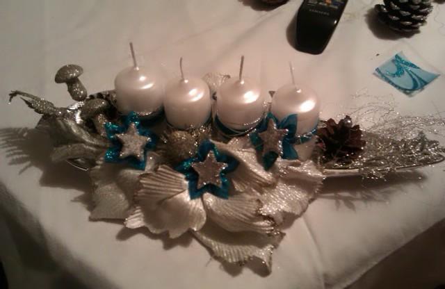 Moje vianočné tvorenie ;) - Obrázok č. 1
