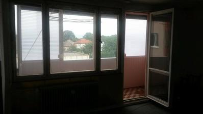 PRED - OBÝVAČKA - bude francúzske okno, moja najobľúbenejšia časť bytu :)