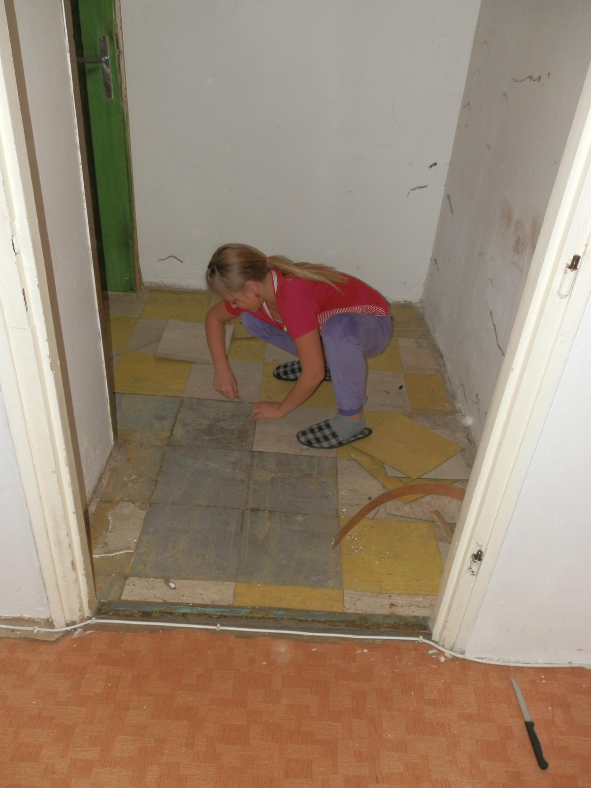 Náš byt v domě- rekonstrukce - Obrázek č. 15