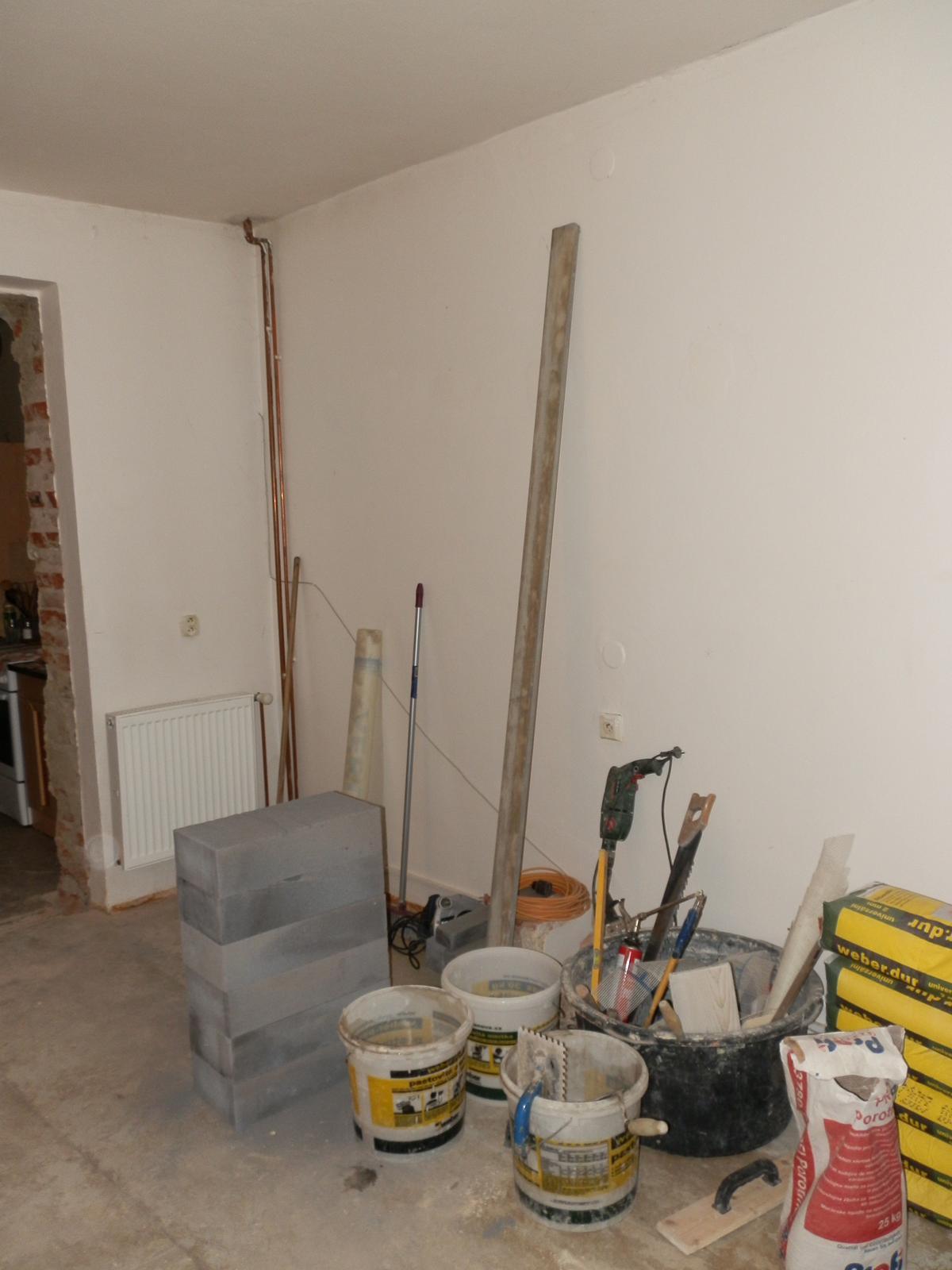 Náš byt v domě- rekonstrukce - Obrázek č. 27