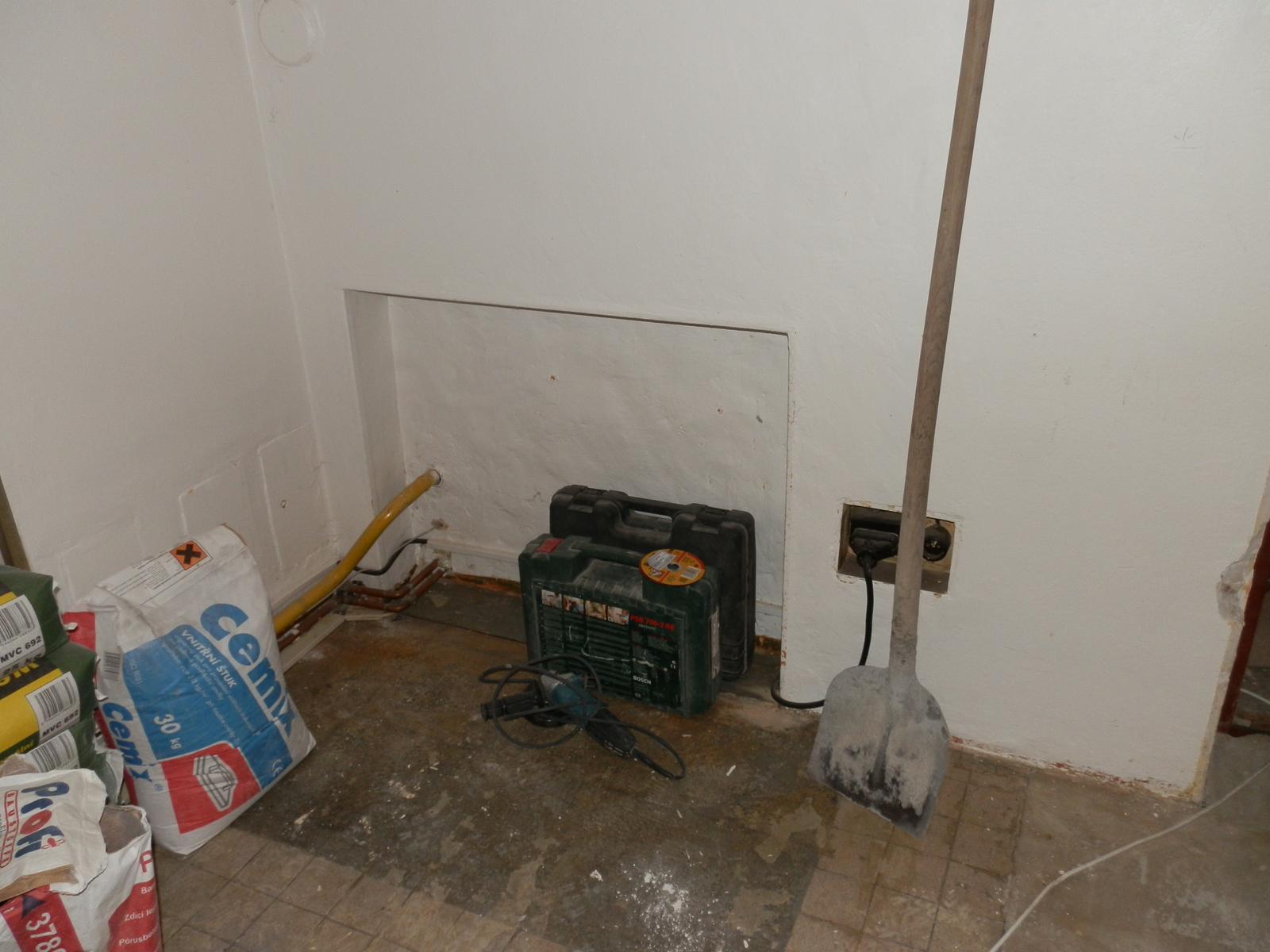 Náš byt v domě- rekonstrukce - Obrázek č. 28