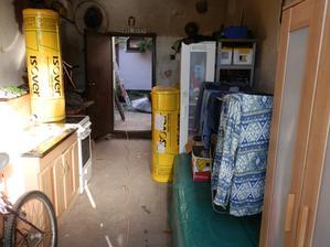 nepořádek v garáži