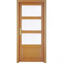 dveře barcelona, jsou dřevěné, kupované v Hornbachu, cena kolem 3000 za jedny do koupelny bohužel budou plné nevyrábí se 60tky s mléčným sklem, ve skutečnosti jsou ale tmavší a kování bude matná ocel