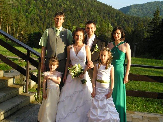 Danka Suchá{{_AND_}}Marcel Frankovič - sestra s rodinkou
