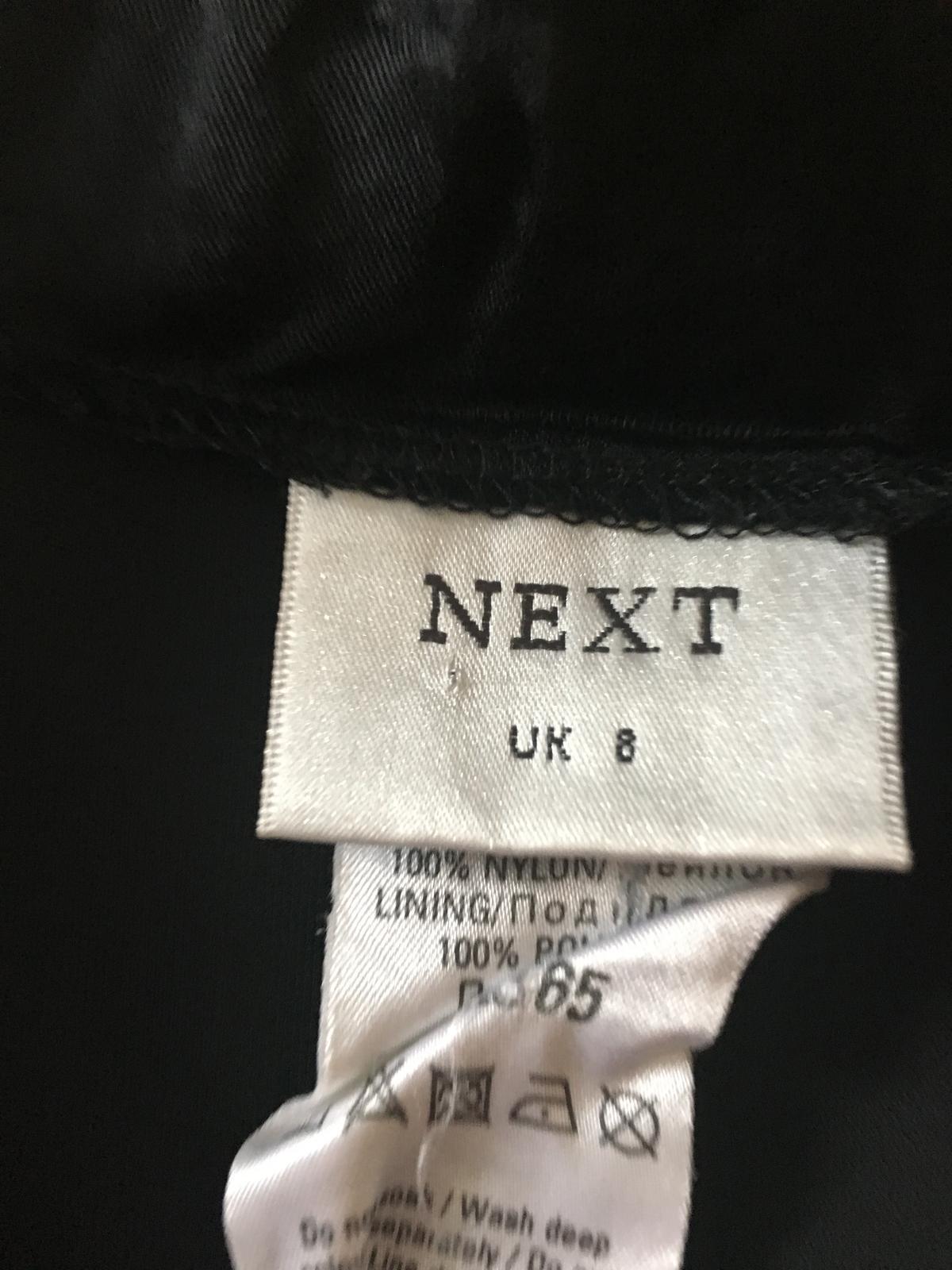 NEXT sukňa so striebornými flitrami - Obrázok č. 3