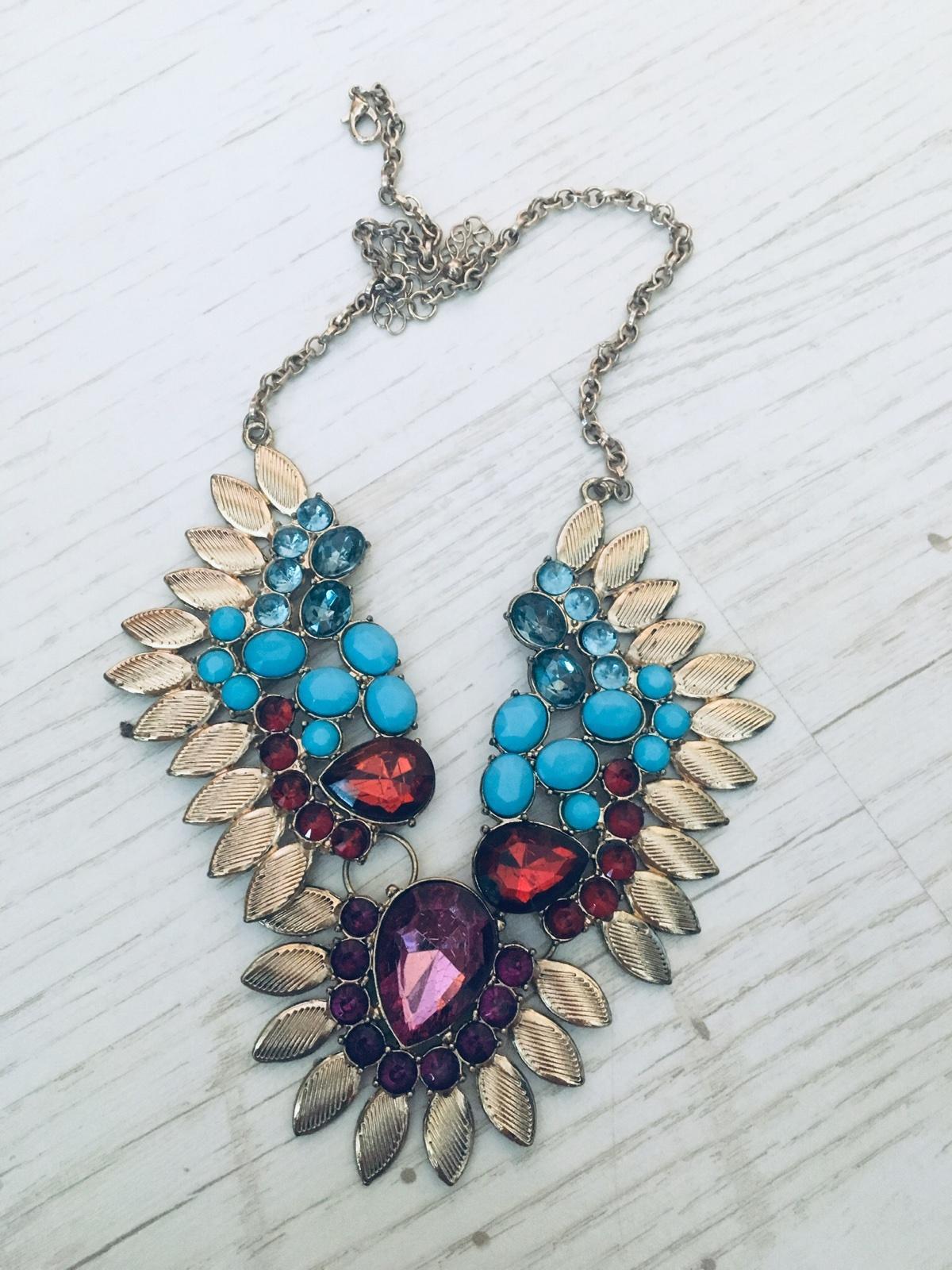 farebný náhrdelník - Obrázok č. 1