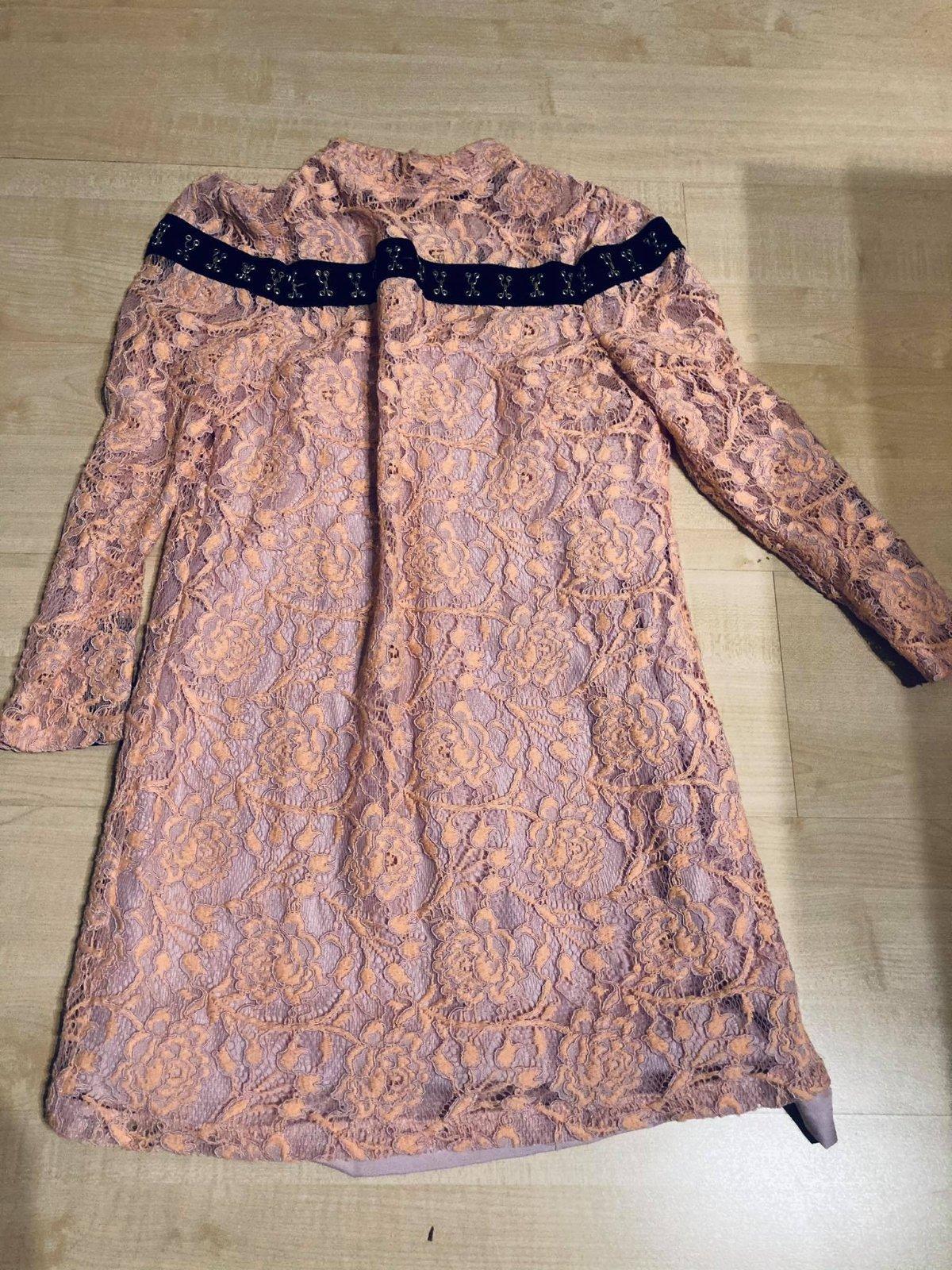 Asos Petite čipkované šaty UK 12/ EU M - Obrázok č. 1