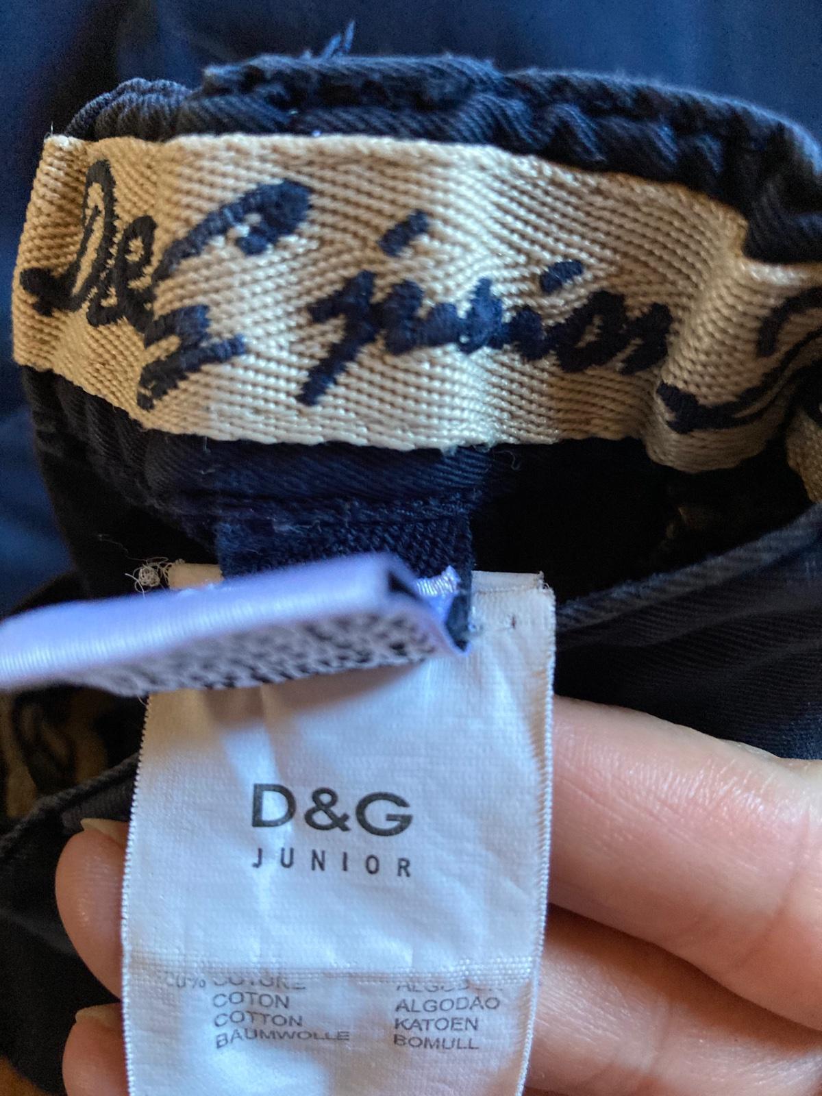 D&G Junior chlapčenské nohavice - Obrázok č. 3