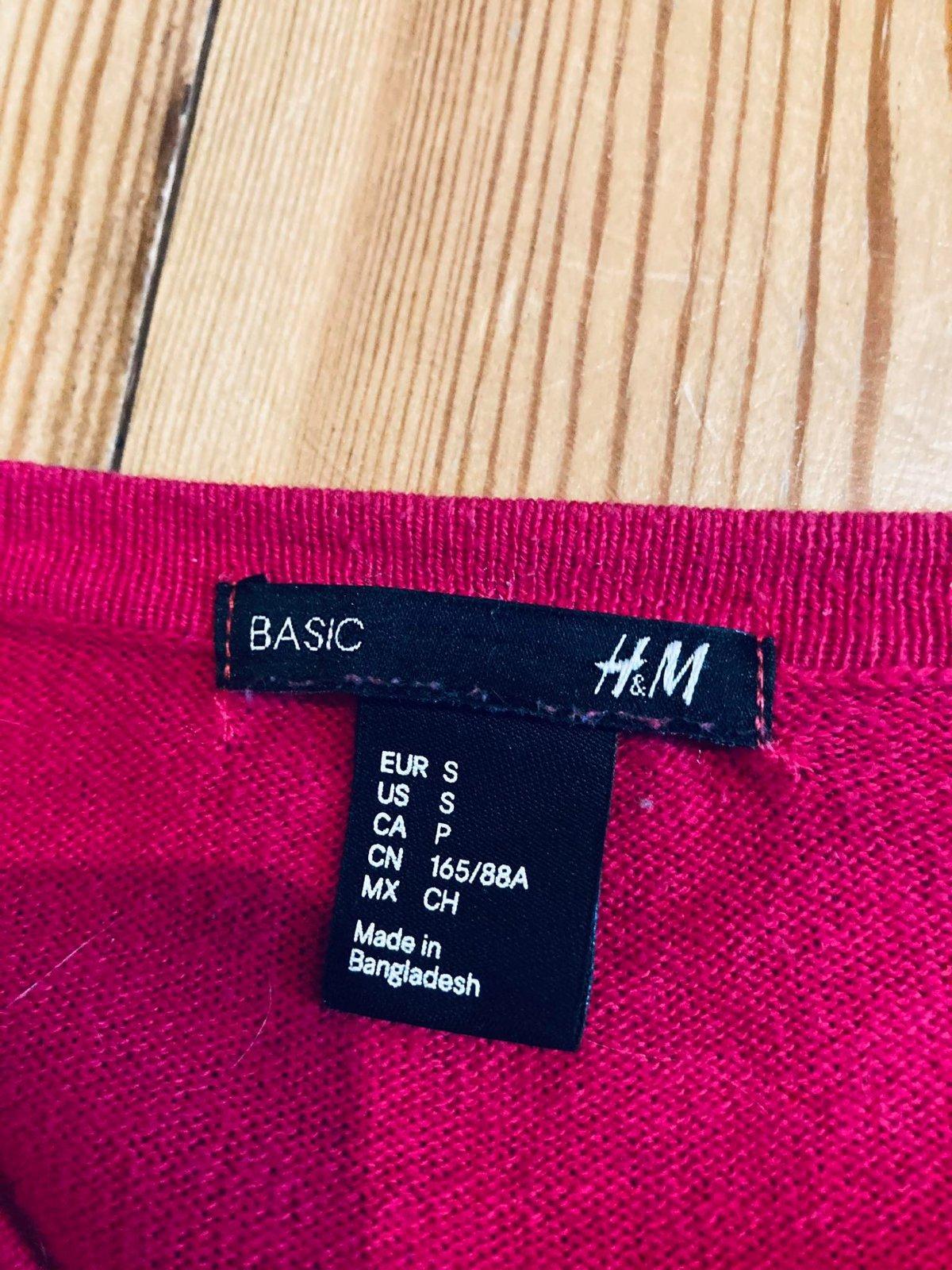 HM sýto ružový svetrík - Obrázok č. 3