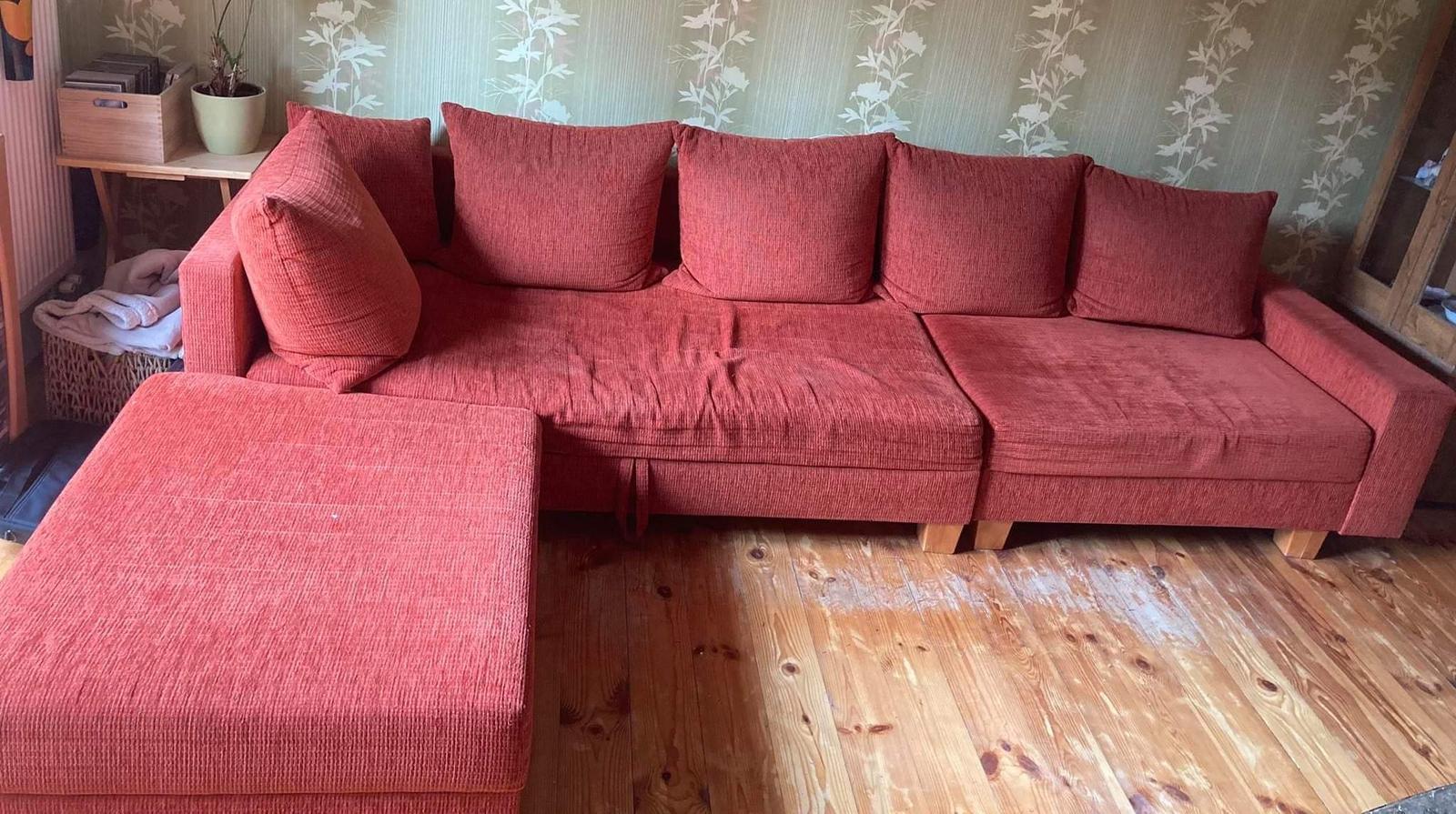 sedačka s úložným priestorom - osobný odber Sokoľ - Obrázok č. 1