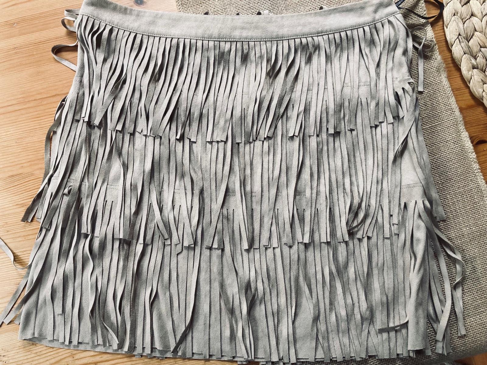 sukňa so strapcami MORGAN - Obrázok č. 1