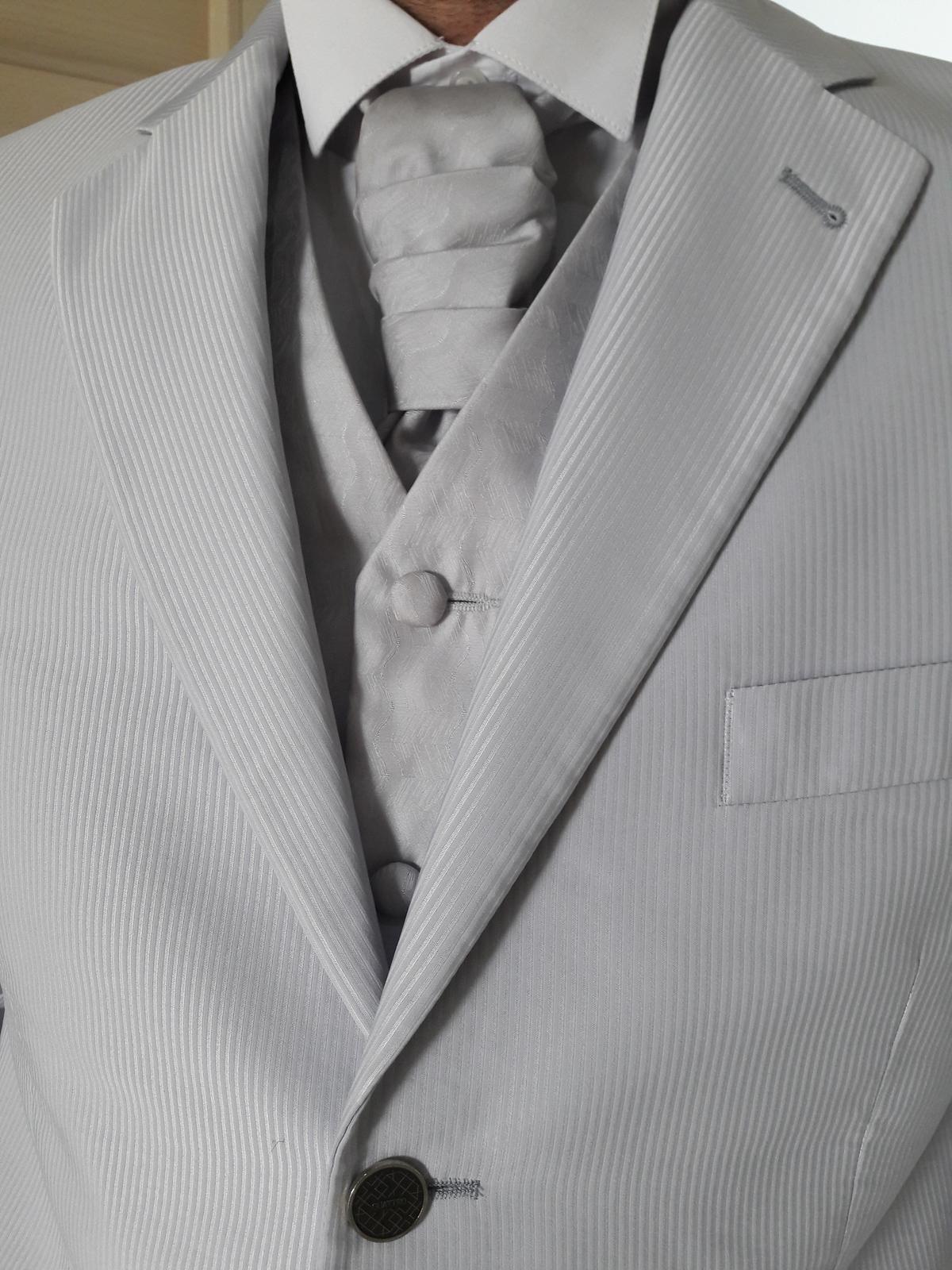 Oblek pre ženícha (svadobný oblek) - Obrázok č. 4