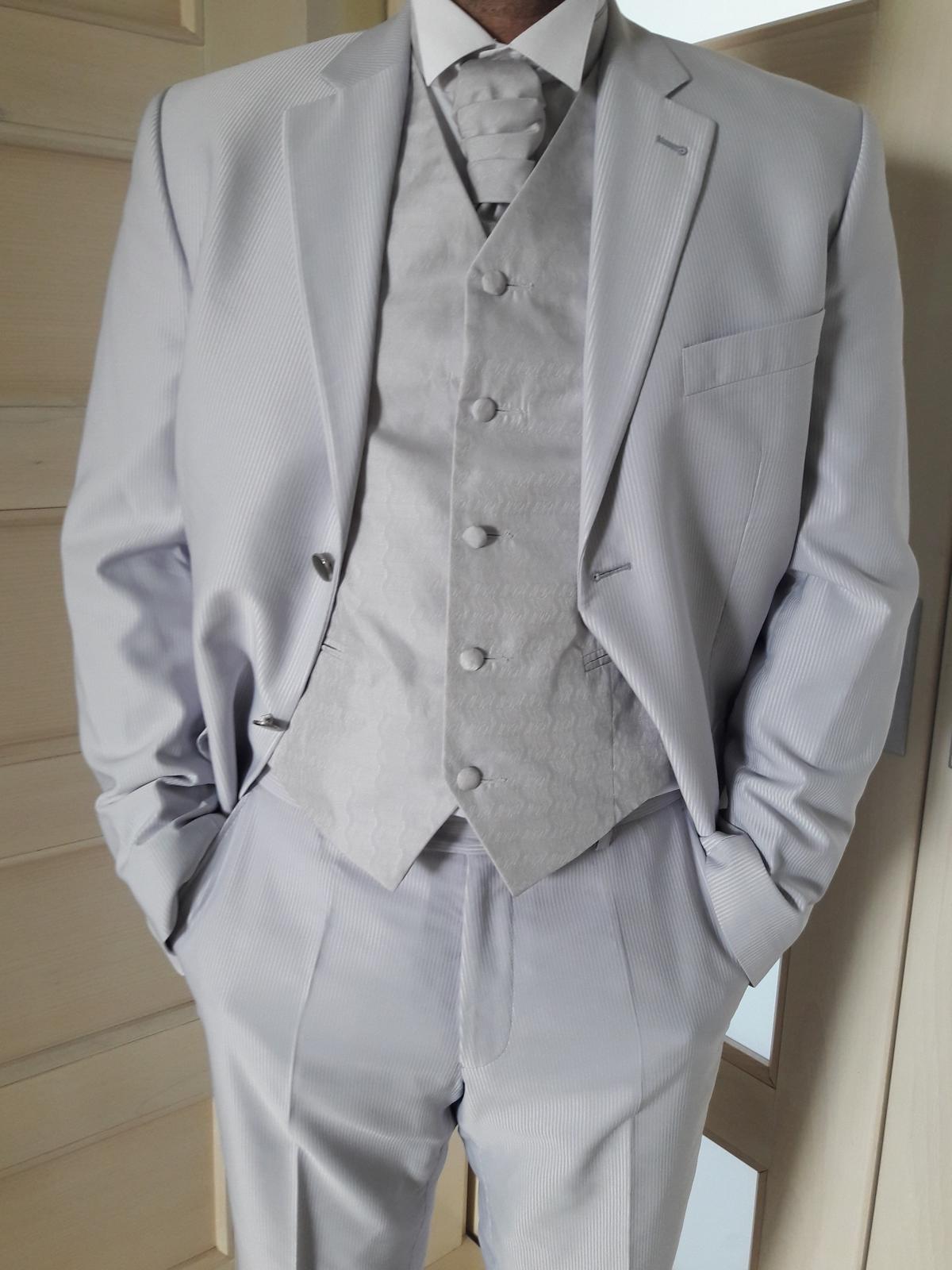 Oblek pre ženícha (svadobný oblek) - Obrázok č. 1