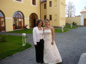 s kamarádkou Janičkou