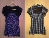 2x dámske tričká BALÍK, 36