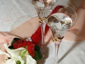 Naše svadobné poháre...