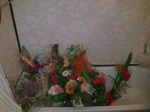 Prvá časť našich svadobných kytíc...