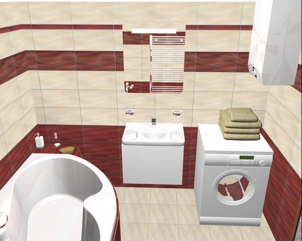 Projekt naší koupelny :) - Obrázek č. 1