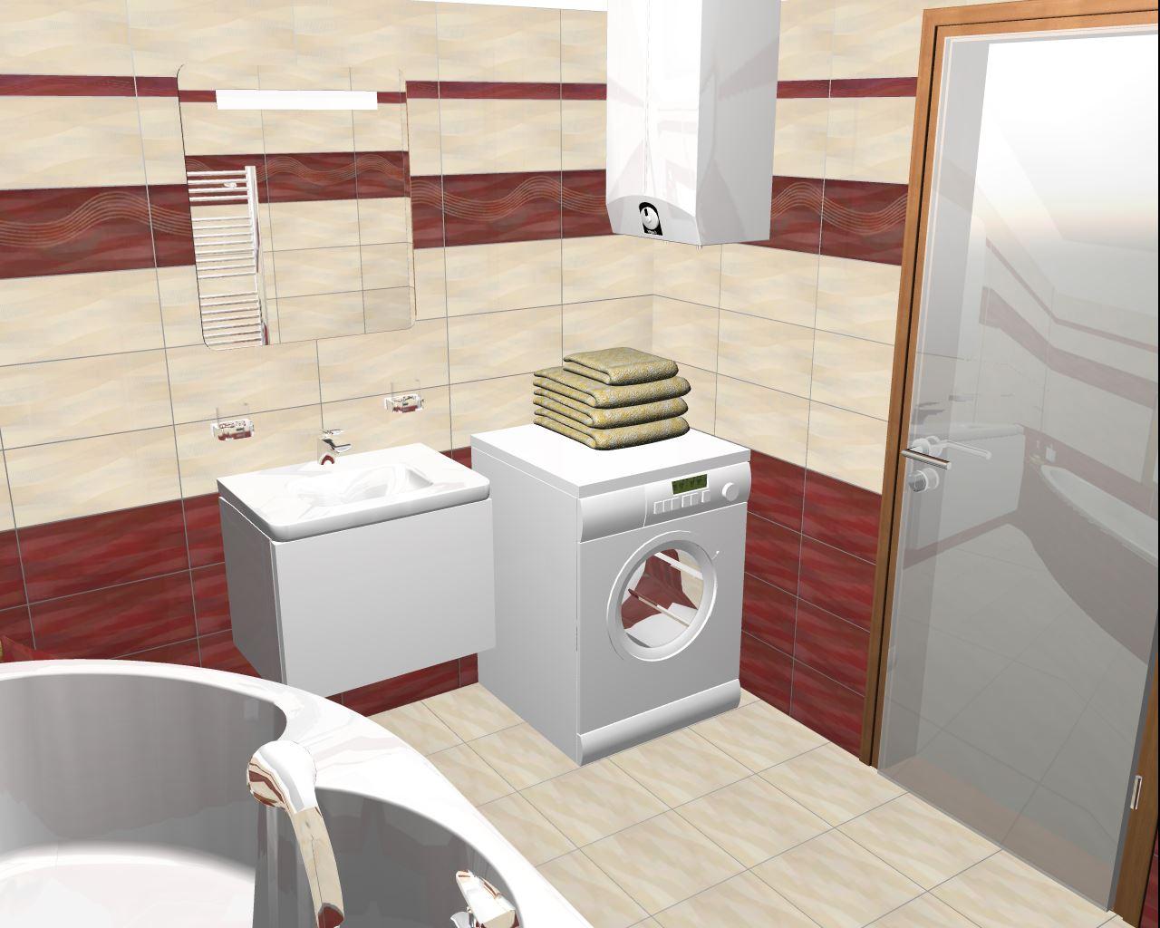Projekt naší koupelny :) - Obrázek č. 2
