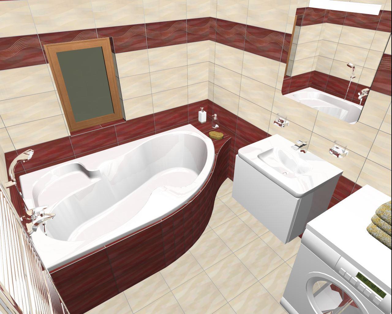 Projekt naší koupelny :) - Obrázek č. 3