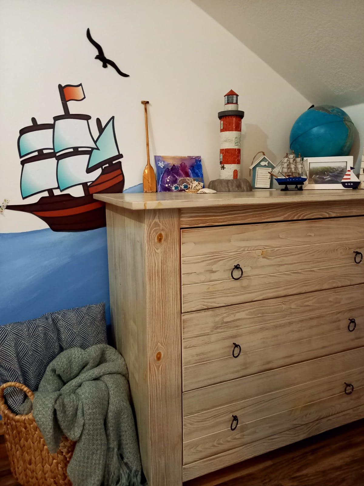Zo zeleného domu - Zatiaľ spoločná izba mojich námorníkov - objaviteľov, 😁 kým sa tolerujú🙃