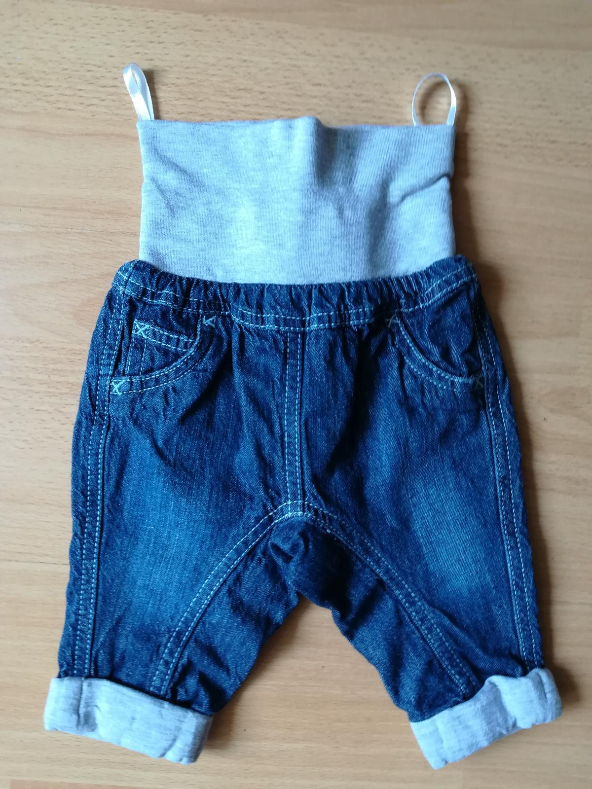 Detské riflové nohavice  Ergee  s vreckami, č.62 - Obrázek č. 1