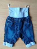 Detské riflové nohavice  Ergee  s vreckami, č.62,