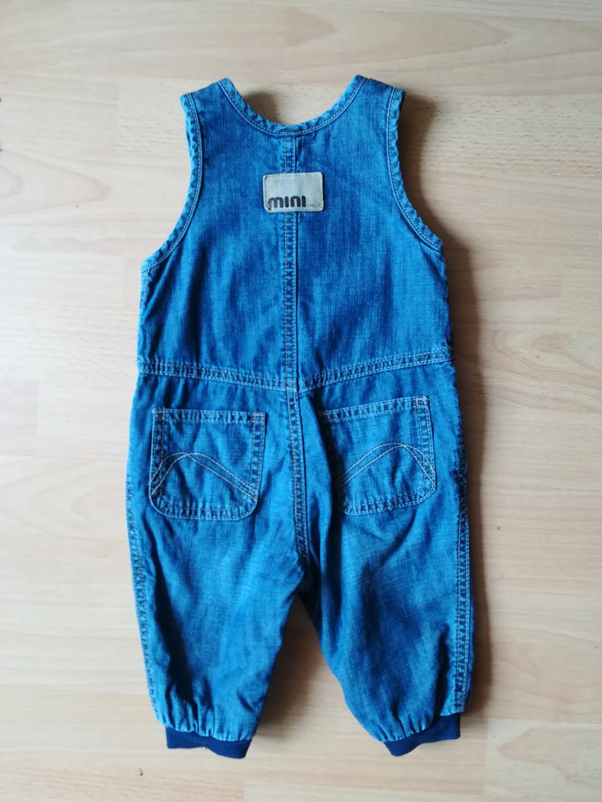 Detské riflové nohavice H&M - Obrázek č. 1