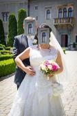 svadobné šaty jasmine F413, 44