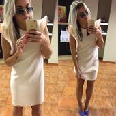 Pudrové šaty , S