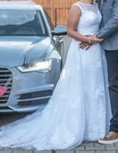 Originální svatební šaty, 42
