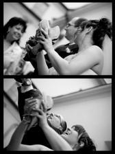 Dárek od maminky - vypouštění holoubků