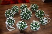 svadobné dekoračné guľe,