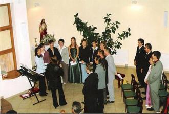 Spieval nám zbor z Gregoroviec -sú  to úuuuuužasný ľudia