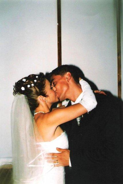 Julia Pastircakova{{_AND_}}Jozef Andrej - božtek ako sa patri na novomanželov a tento krat sme si uzili :-)