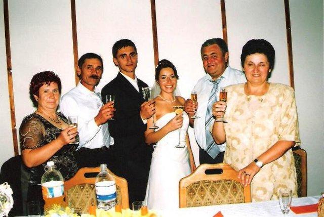 Julia Pastircakova{{_AND_}}Jozef Andrej - s rodičmi