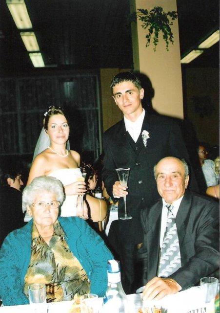 Julia Pastircakova{{_AND_}}Jozef Andrej - s mojími starými rodičmi