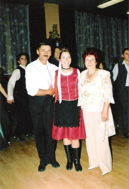 Julia Pastircakova{{_AND_}}Jozef Andrej - rodicia nevesty