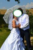 svadobne šaty s čipkou , 37