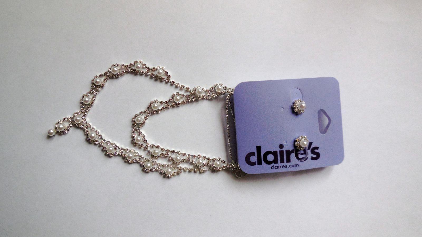 Sada - náhrdelník, náušnice, náramek - Obrázek č. 1