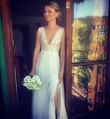 lehké svatební šaty, 36