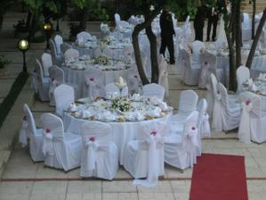 tabule z kamaradciny svatbe v Istanbulu - nadhera