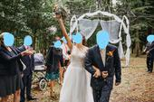 Výzdoba svatebního altánu,