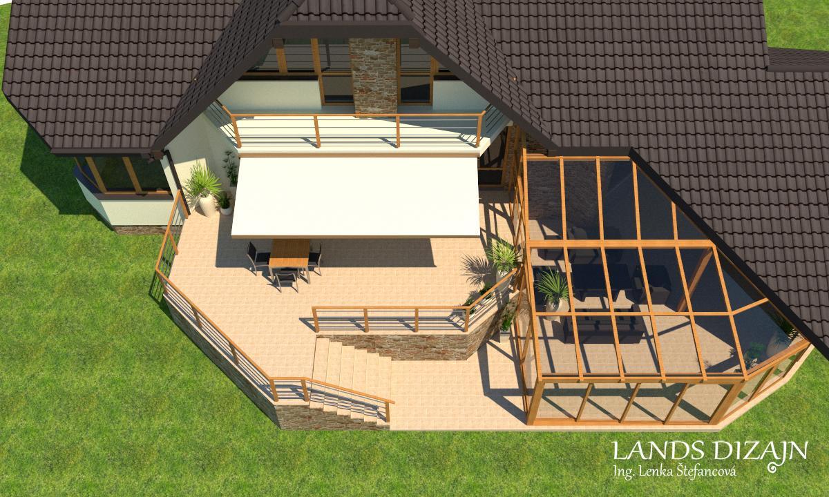 Návrh terasy a zimnej záhrady - Obrázok č. 4