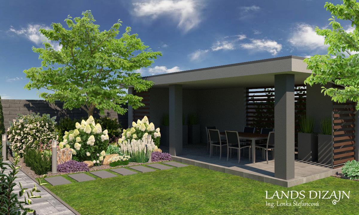 Návrh modernej záhrady. - Obrázok č. 5